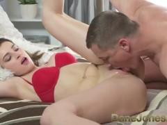 Dane Jones Beautiful auburn hair angel making love to multiple orgasms