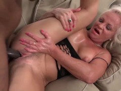 Grannies with big boobs love BBC inte...