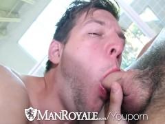ManRoyale Hunter Page fucks John Foster tight ass