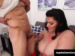 Cuban BBW Angelina Castro Sucks & Fucks Puerto Rock's Cock!