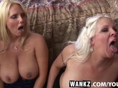 Wankz- platinum blond trio of cougars