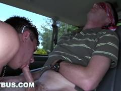 BAITBUS - Cute Guy Gets His Juicy Man Ass Banged By Creepy Straight Bait