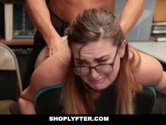 Shoplyfter - Teen Gets Inspected For Stealing