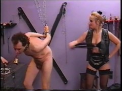 german slave voluntarily treated by two mistresses (vintage).mp4