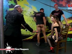 Champagne Cum and Cake for Queen of Goo Viktoria