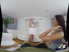 WankzVR - Seeking Approval ft. Jessica Jones and Sierra Nicole