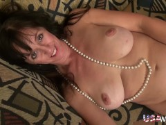 : USAwives Slim Lusty Mature Gonzo Style Sex Footage