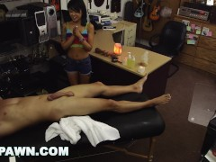XXXPAWN - Saya Song Loves Redneck Pawn Shop Owner Long Time!