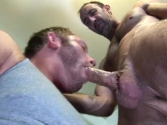 Steven Richards puts dads cock in his mouth