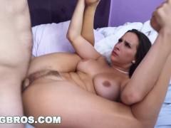 BANGBROS - Ashley Adams's Juicy Big Tits Will Impress You, For Reals
