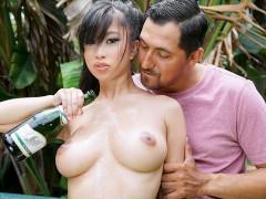 TittyAttack - Asian Teen Gets Titty Fucked