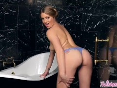 Twistys  Solo bath time  with Veronica Weston