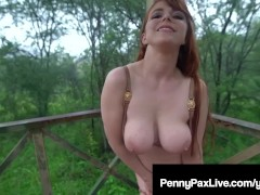 Jungle Princess Penny Pax Gets Hot Naked & Naughty Outdoors!