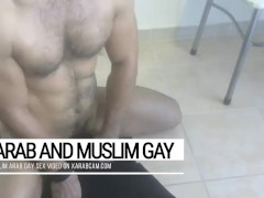 Cum on me, sex bomb! Arab gay Algerian, handsome stud unloads over and over