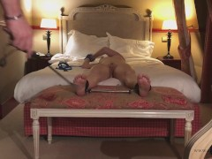043 - Feet Tickle torture Bondage at the hotel room.mp4