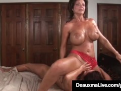 - Busty Milf Deauxma Squirts in Magdelaine St.Michaels&#039; Mouth!/><br/>                         <span class=
