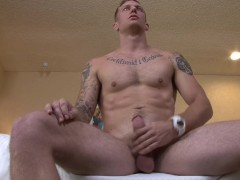 Hung Str8 Army Jock Jerks Nice Cut Cock for You