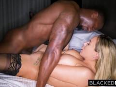 BLACKEDRAW Trophy wife fucks bbc in hotel and calls husband