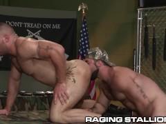 Latino Bounces On Hairy Daddy Jaxton Wheeler's Cock – HOT