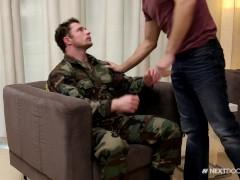 NextDoorStudios Sgt. Markie More, Sorry But I Want Ur Big Dick