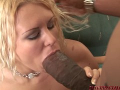 Soccer Mom penetrated by big black cock