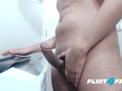 Flirt4Free Model Ron Garcia - Latino Dude Provides a Close-Up Look to His Cock and Ass