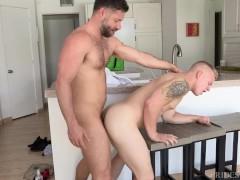 Hairy Latin Big Dick Uncut Daddy Fucks Muscle College Boy