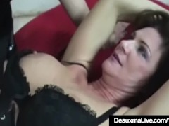 : Cougar Deauxma Tied Up & Dominated By Mistress Sarah Blake!