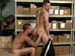 Big Dick Daddy Friends Make A Porno At Work