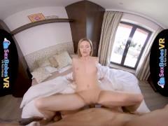 SexBabesVR - Sexy Shower Surprise with Angel Piaff