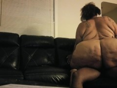 Mature big butt fat ass Sbbw riding bbc