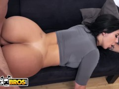 BANGBROS - Valerie Kay's BF Sean Lawless Gets Seduced By Her Busty Roommate, Natasha
