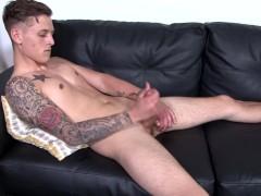 Straight Cute Teen Twink Military Brat Jerks His Big Dick