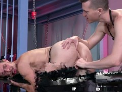 Fetish Lover Gets His Ass Licked Then Rough Fisted
