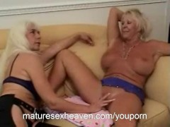 Hot Old Ladies Play With Each Other