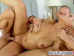Digital Playground - Bridgette B, Mick Blue & Tommy Gunn - Bad Girls mmf, threesome