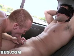 BAIT BUS - Hunky Nick Toretto and Steven Ponce Bumpin' Uglies In The Van