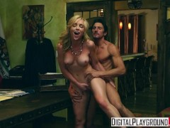 Digital Playground - Kayden Kross - Sexy Blonde boss wants her pussy licked at work