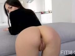 f18-Sasha Rose Skinny Fuck In Bodysuit