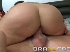 Brazzers - Two hot milfs, Syren De Mer & Tiffany Mynx share stepson