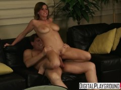 Digital Playground - Sara Stone gets fucked hard on the couch