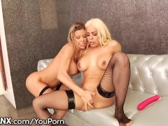 LesbianX Luna Star & Alexis Fawx SQUIRT All Over Each Other