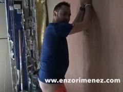 ENZO RIMENEZ fuck bareback a striaght worker