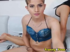 Sexy Tranny Goddess Gets a Hard Ass Fucking