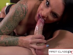 FirstClassPOV Juelz Ventura sucking a monster cock, bubble butt & huge tits