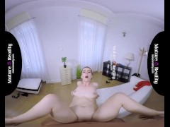 MatureReality VR - Russian Milf gets squeezed
