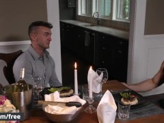 Men.com - Trailer preview -Aspen and Jake Ashford - Hot date and cock sucking