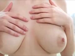 Busty Teen Schoolgirl Mila Azul Solo Masturbation