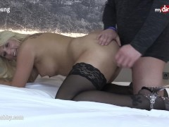 MyDirtyHobby - Curvy Blonde milf gets pounded!