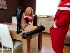 MyDirtyHobby - Christmas Anal present!